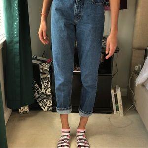 Element Jeans - [vintage] high-waisted denim mom jeans